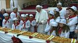 "Papa Francesco, compleanno, pizza e ""fake news"""