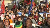 Riviera francesa protesta em defesa dos migrantes