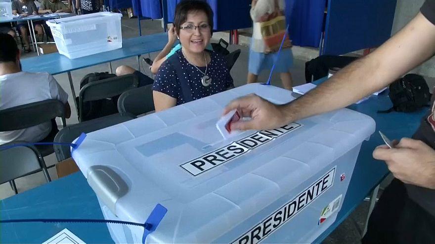 Şili devlet başkanını seçiyor