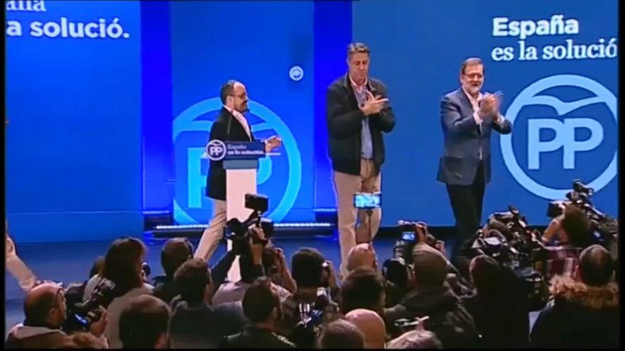Rajoy macht in Katalonien Regionalwahlkampf