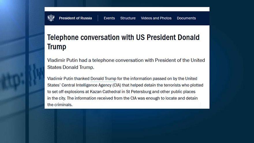 Путин -Трампу: спасибо ЦРУ за помощь