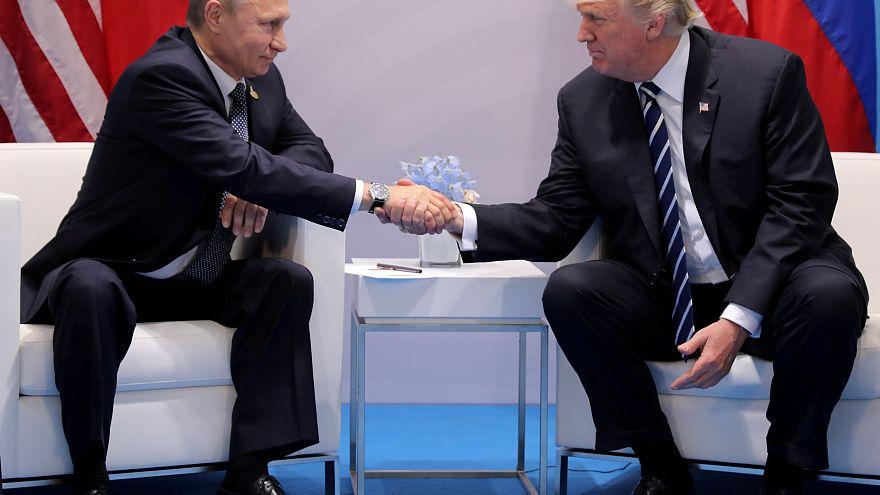 Beste Freunde? Putin dankt Trump für CIA-Warnung