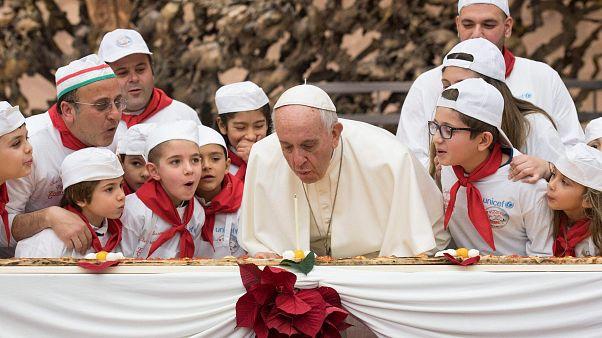 Le pape François fête ses 81 ans