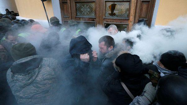 Kίεβο: Συγκρούσεις αστυνομίας και υποστηρικτών Σαακασβίλι