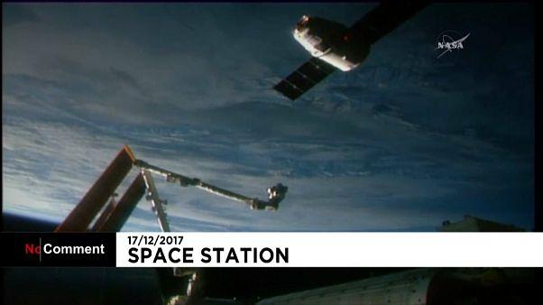La capsule SpaceX Dragon est arrivée sur l'ISS
