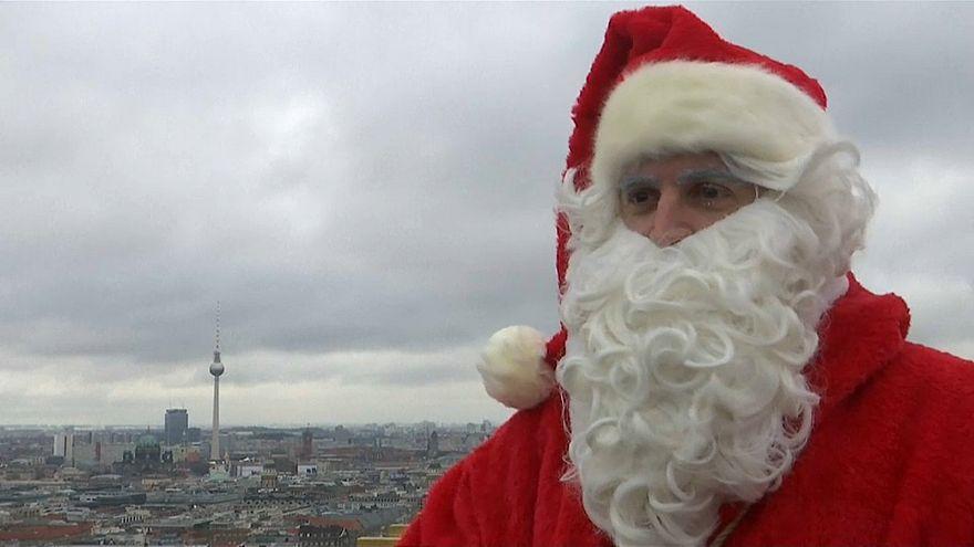 Санта-Клаус добрался до Берлина