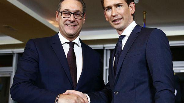 Austria: la extrema derecha controlará tres ministerios clave