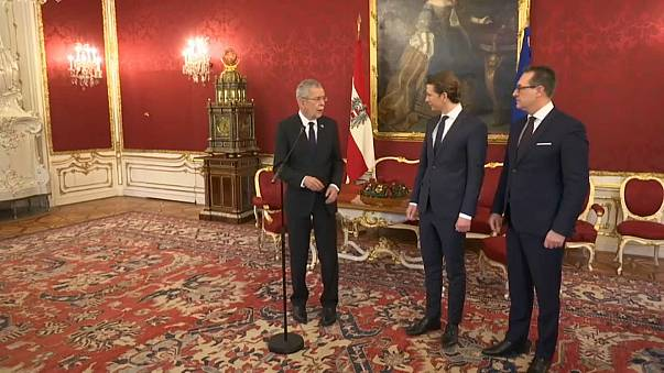 Austria's new government to be sworn-in today
