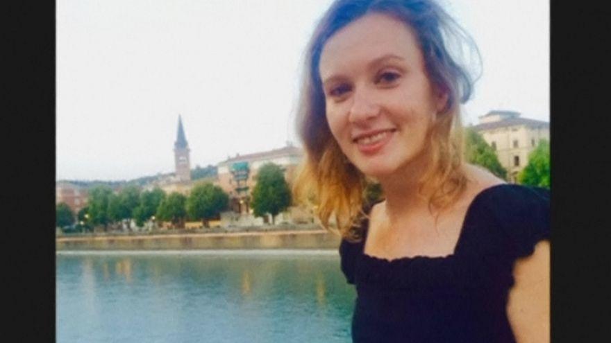 British embassy worker, Rebecca Dykes