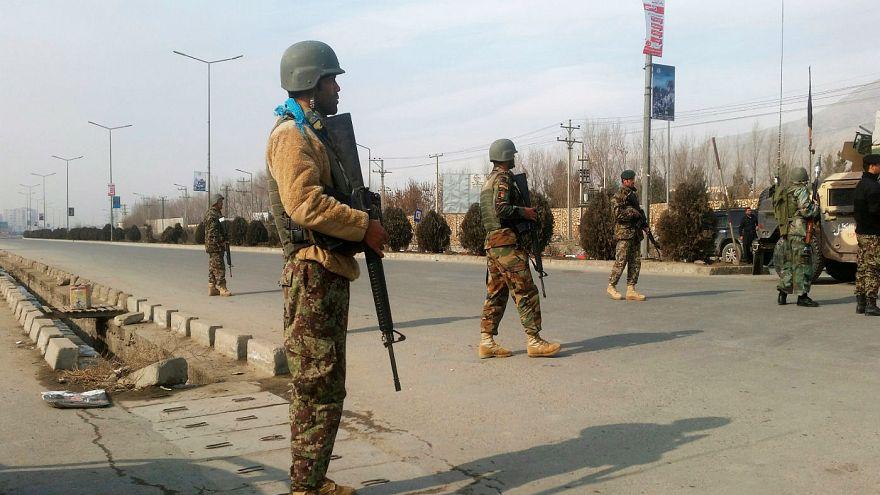 پایان درگیری در غرب کابل، داعش مسئولیت حمله به تاسیسات امنیتی را پذیرفت