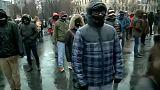 Néma flashmob Romániában