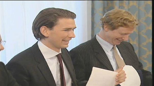Wonderkid Kurz becomes Chancellor of Austria