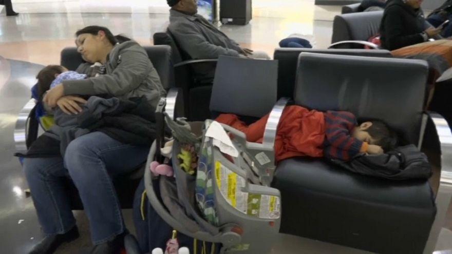 Atlanta Hartsfield Jackson Havalimanı'nda elektrik geri geldi