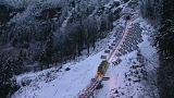Apre i battenti in Svizzera la funicolare più ripida d'Europa