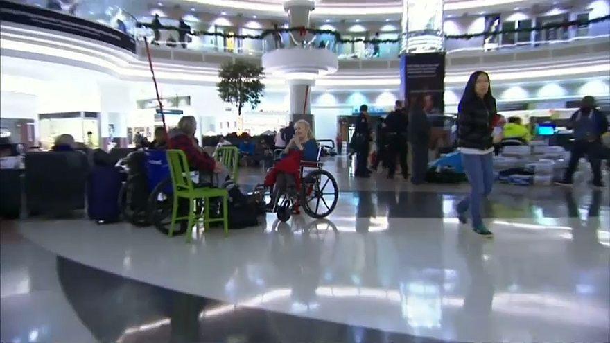 Аэропорт в Атланте вновь открыт