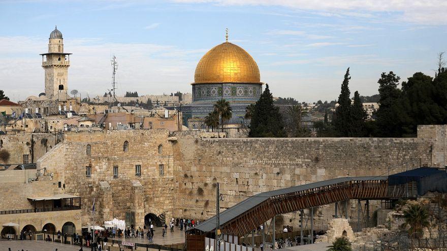 مسجد قبة الصخر في مدينة القدس