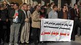 تظاهرات و تنش در کردستان عراق