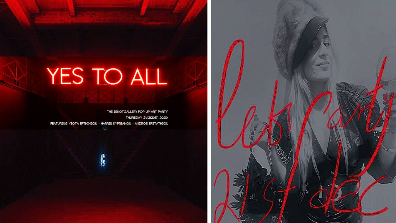 «Yes To All»: Τρεις καλλιτέχνες σε μία έκθεση!