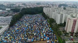 Ο καταυλισμός των εξαθλιωμένων του Σάο Πάολο
