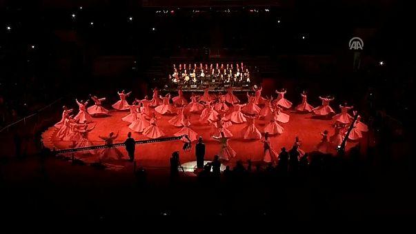 Derwische tanzen für Rumi