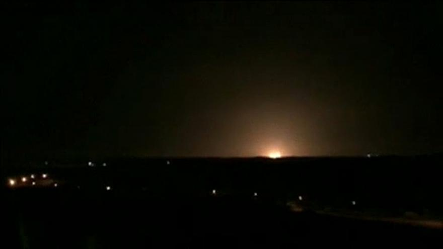 Egymás után hullanak a rakéták a Gázai-övezetben