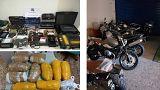 Ελλάδα: Εξάρθρωση σπείρας με κλοπές 500 οχημάτων και διακίνηση ναρκωτικών