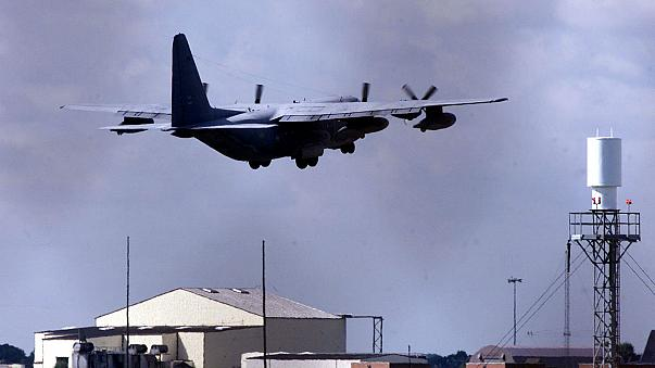 Shots fired as man tries to force his way into US air base in England