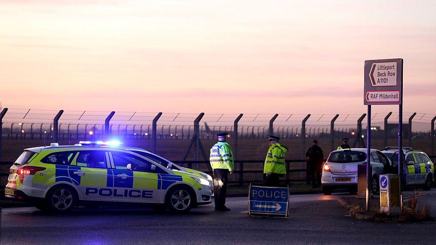 İngiltere'de Amerikan hava üssüne saldırı girişimi