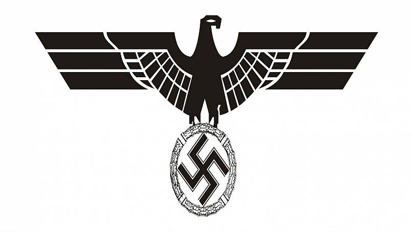 Note that use of the insignia from the Third Reich is banned in Germany