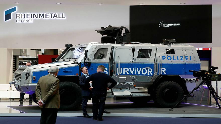 "One of the new ""Survivor"" armoured vehicles"