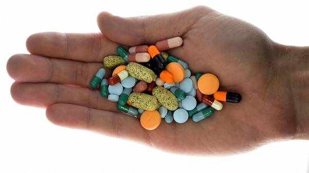 File illustration of various drugs