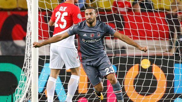 Cenk Tosun'un golü Şampiyonlar Ligi'nin en iyisi seçildi