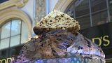 El panettone más grande del mundo hace las delicias de Milán