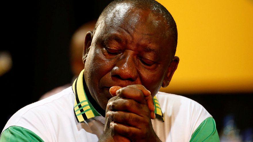El nuevo líder del ANC, Cyril Ramaphosa