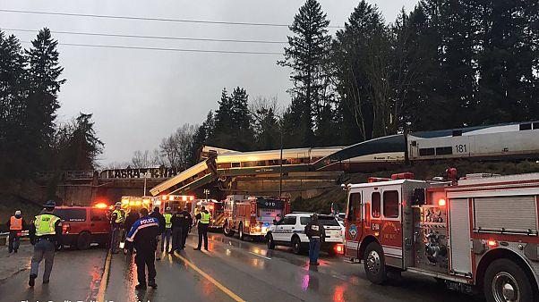 ΗΠΑ : Εκτροχιασμός τρένου - Αναφορές για νεκρούς