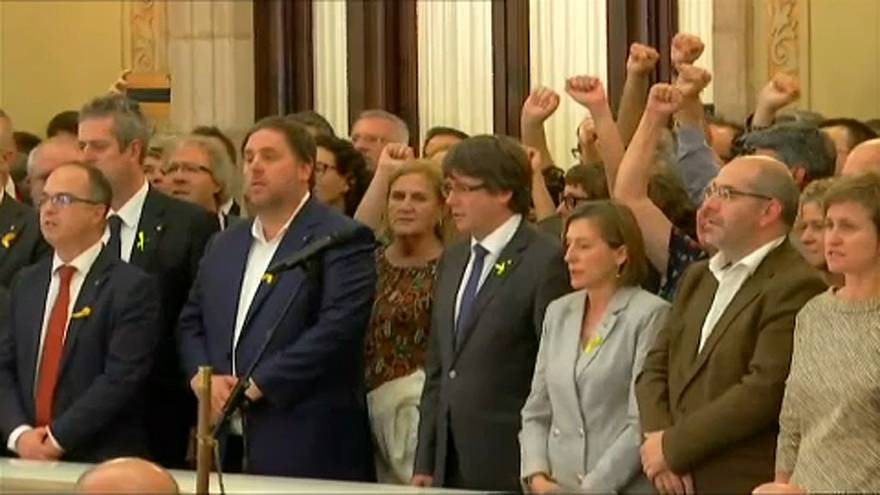 Rivalizálnak a katalán vezetők