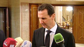 Bachar el-Assad répond à Emmanuel Macron.