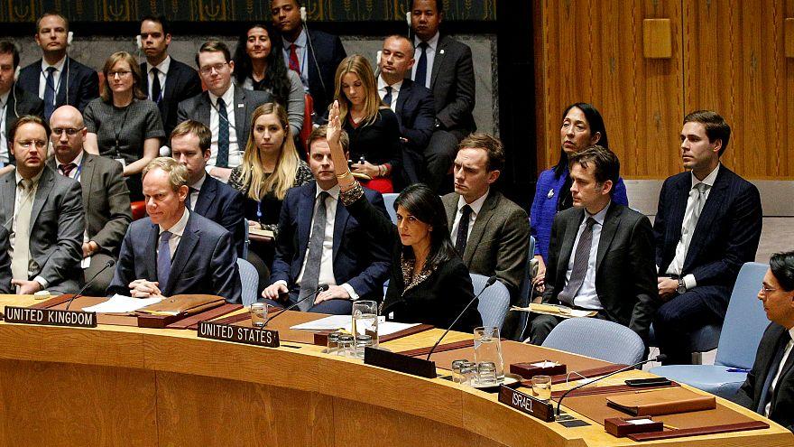 Jérusalem : les Américains mettent leur véto contre une condamnation