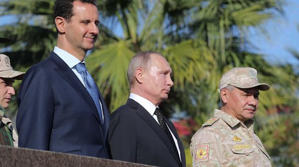 اسد خطاب به ماکرون: دستان شما به خون مردم سوریه آغشته است