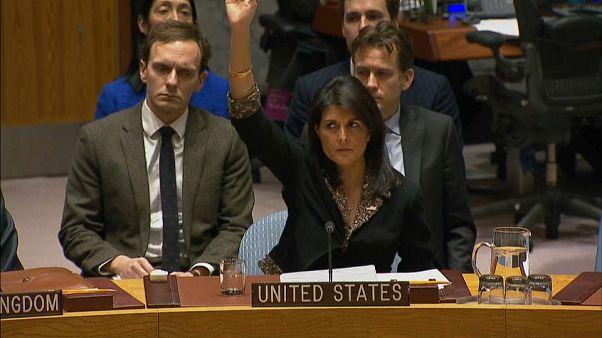 Allein gegen alle: US-Veto gegen Jerusalem-Resolution