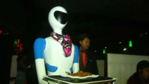 لو سمحت سيدي الروبوت... اريد وجبة