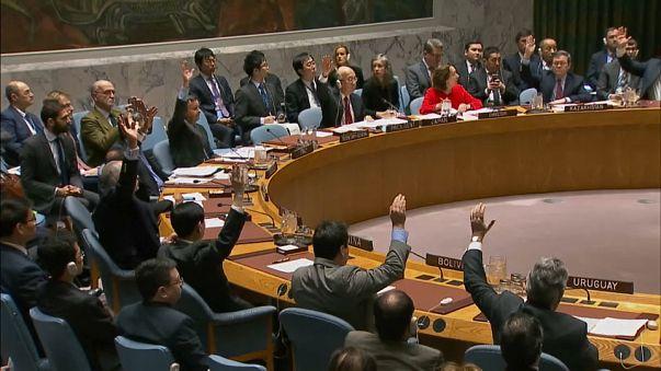 US wields UN veto over status of Jerusalem