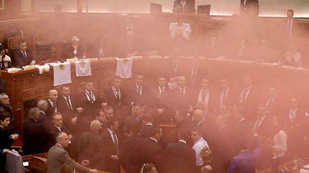 درگیری نمایندگان در پارلمان آلبانی در پی انتخاب دادستان کل جدید