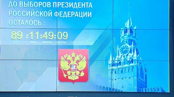 Wahlkampfauftakt in Russland