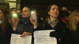 Proteste gegen Rumäniens Justizreform