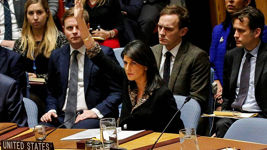 Les Etats-Unis bloquent une résolution de l'ONU sur Jérusalem