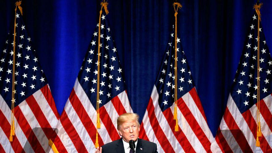 """Trump presenta su doctrina de seguridad: """"América primero"""""""