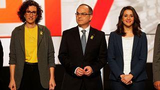 Quel che resta dei politici catalani in tv in vista delle regionali
