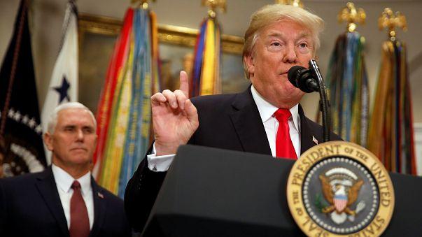 O plano estratégico de Trump são duas palavras: América Primeiro
