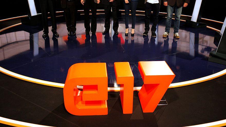 Die Teilnehmer der Fernsehdebatte